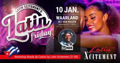 Latin Friday 10 Januari 2020