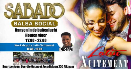 Sabado Salsa Social 22 aug 2020