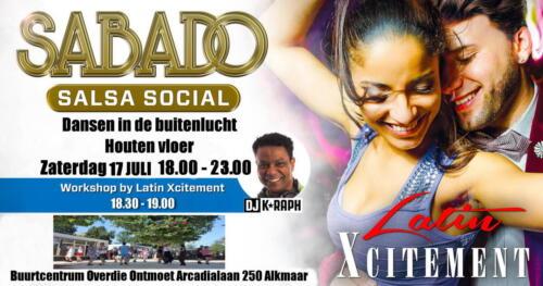 Sabado Salsa Social 17 juli 2021