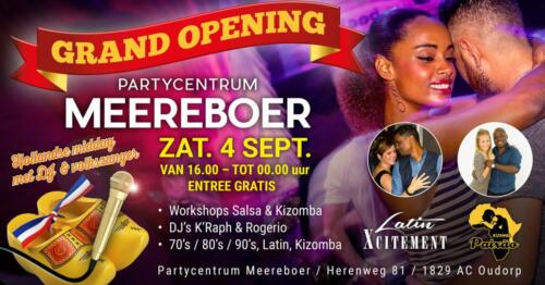 Grand Opening Partycentrum Meereboer